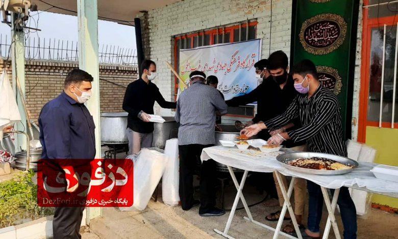 غذا 19 هزار پرس توزیع جنوب غرب دزفول حوزه سلمان فارسی
