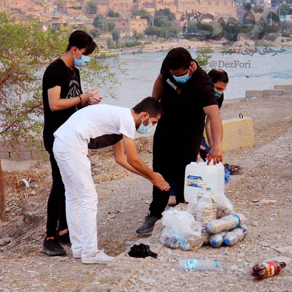 پاکسازی بام دزفول توسط کمپین پاکبانان طبیعت دزفول 2