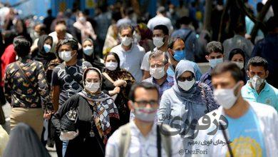 تصویر از آخرین وضعیت کرونا در خوزستان؛ میزان استفاده از ماسک در اماکن عمومی پایینتر از میانگین کشور!