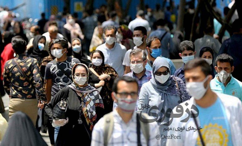 ویروس کرونا خوزستان آمار 2