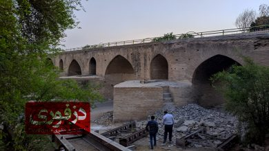 تصویر از گزارش تصویری از بازدید گروهی از دوستداران میراث فرهنگی از پل ساسانی(قدیم) دزفول