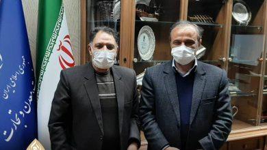 تصویر از نماینده دزفول با وزیر صنعت، معدن و تجارت دیدار کرد