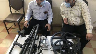 تصویر از  کشف و ضبط یک دستگاه گنجیاب و دستگیری ۳ نفر در دزفول