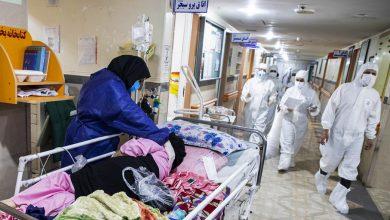 تصویر از ظرفیت بیمارستان دزفول برای پذیرش بیماران کرونایی تکمیل شد