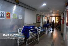 تصویر از اسکان بیماران در راهروهای بیمارستان دزفول