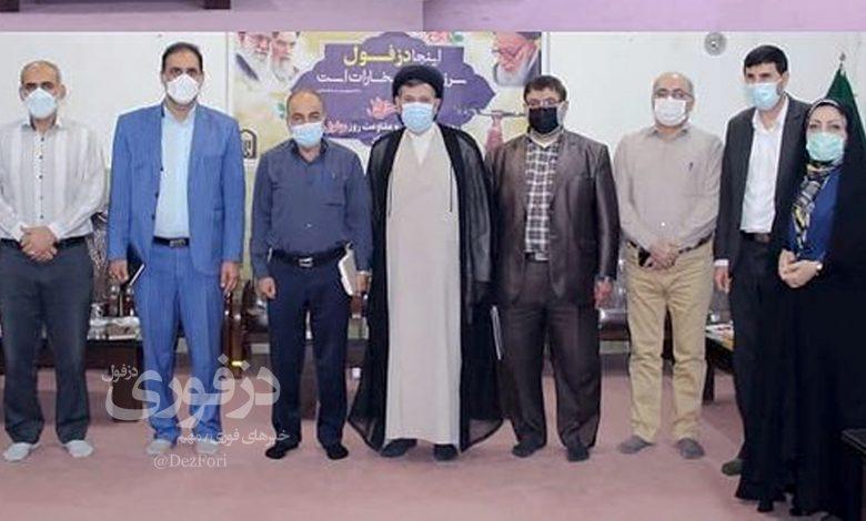 امام جمعه دزفول و اعضای شورای ششم