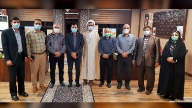 تصویر از دیدار منتخبین ششمین دوره شورا شهر دزفول با فرماندار ویژه شهرستان