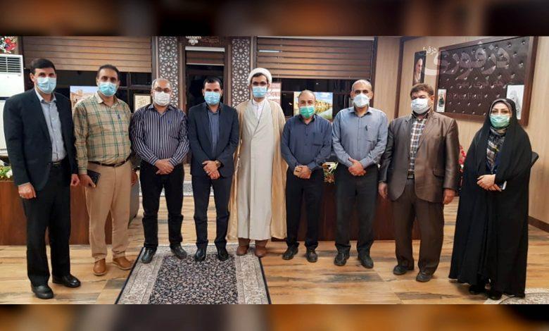 دیدار اعضای شورای شهر ششم با فرماندار دزفول علی فرهمند پور