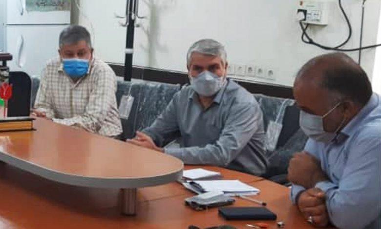 دیدار مسئولان دانشگاه علمیکاربردی دزفول با ریاست بنیادشهید و امور ایثارگران دزفول