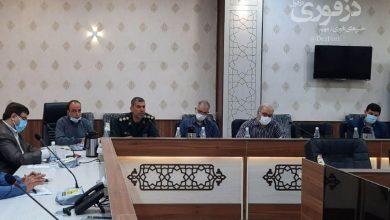 تصویر از دیدار منتخبین شورای ششم دزفول با فرمانده ناحیه مقاومت بسیج دزفول