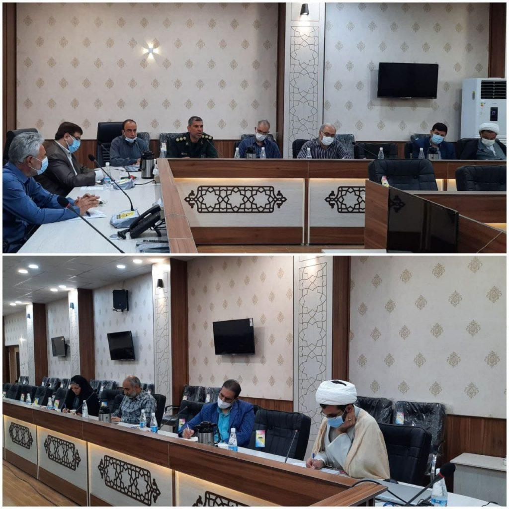 دیدار منتخبین شورای ششم دزفول با فرمانده ناحیه مقاومت بسیج دزفول