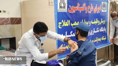 تصویر از واکسیناسیون سربازان پایگاه وحدتی دزفول توسط اندیمشک!
