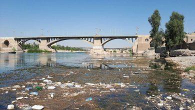 تصویر از رودخانه دز غرق در فاضلاب است